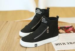 mijnschoengeheim - sneakers met sleehak