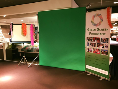 Wij faciliteren green screen fotografie
